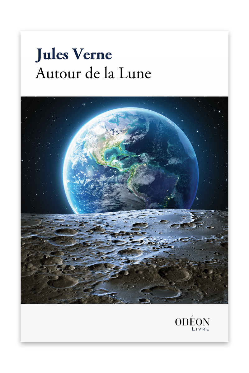 Cover of Autour de la Lune by Jules Verne