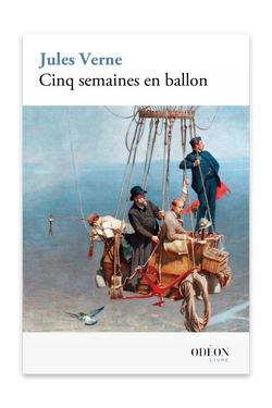 Front cover of Cinq semaines en ballon by Jules Verne