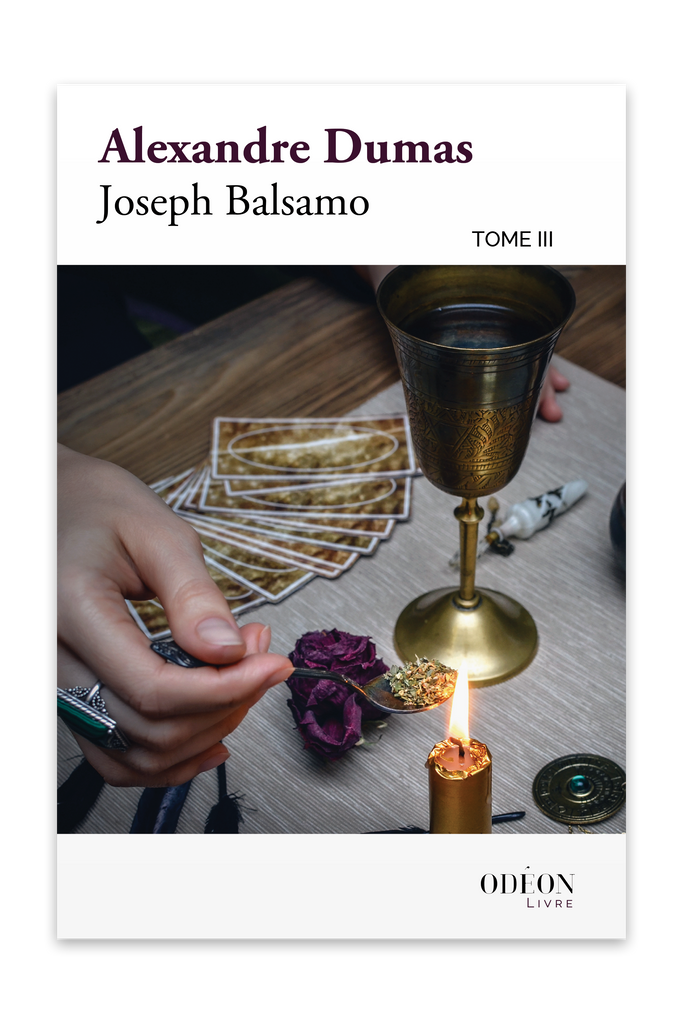 Front cover of Joseph Balsamo - Tome III by Alexandre Dumas