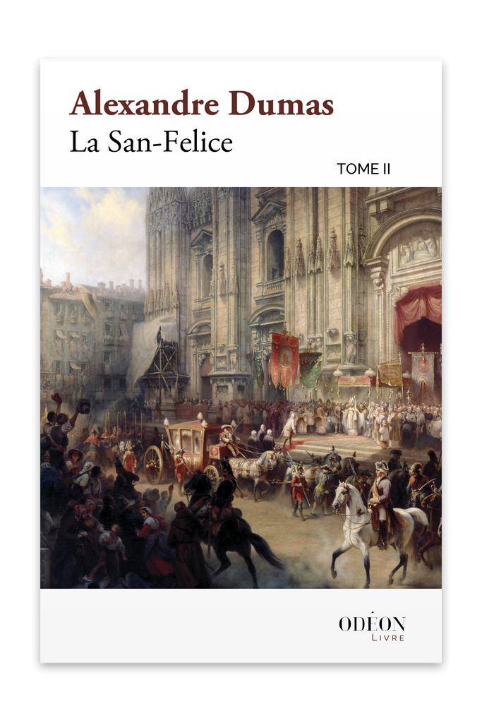 Front cover of La San-Felice - Tome II by Alexandre Dumas