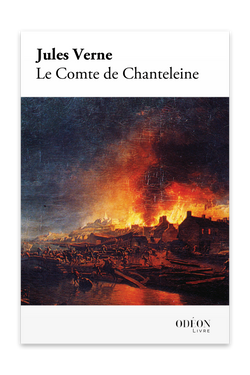 Front cover of Le Comte de Chanteleine by Jules Verne