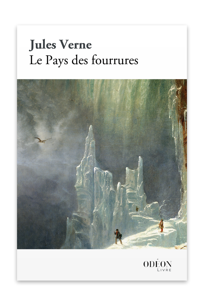 Front cover of Le Pays des fourrures by Jules Verne