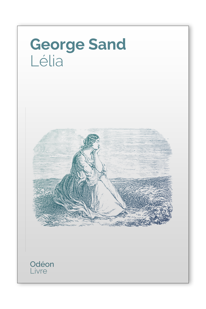 Front cover of Lélia by George Sand