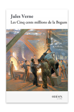 Front cover of Les Cinq cents millions de la Begum by Jules Verne
