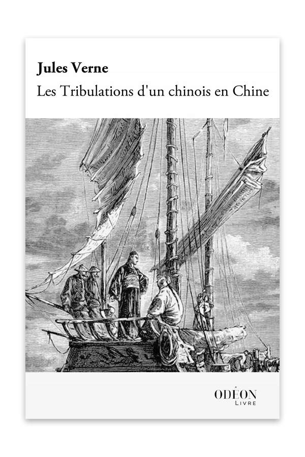 Front cover of Les Tribulations d'un chinois en Chine by Jules Verne