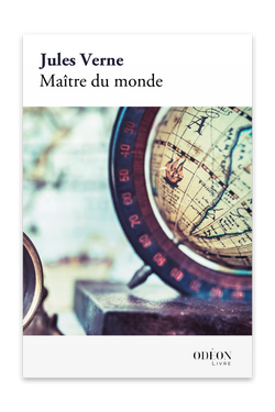 Front cover of Maître du monde by Jules Verne