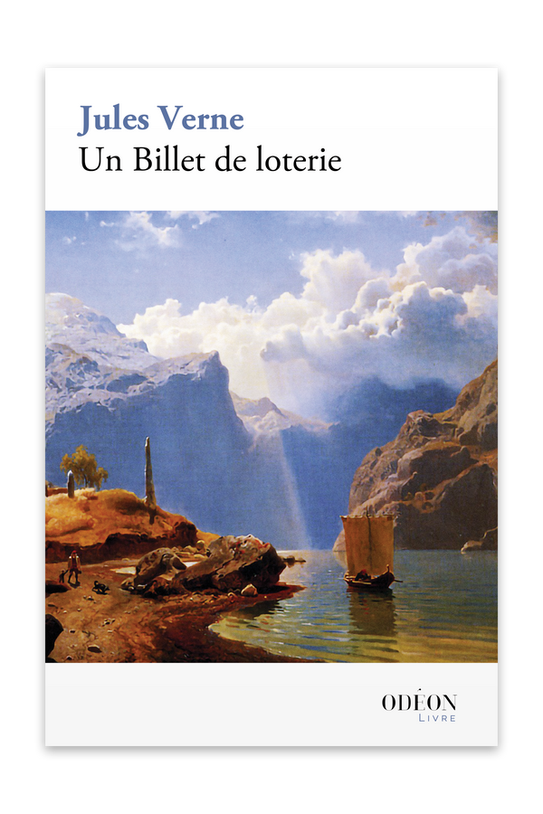 Front cover of Un Billet de loterie by Jules Verne