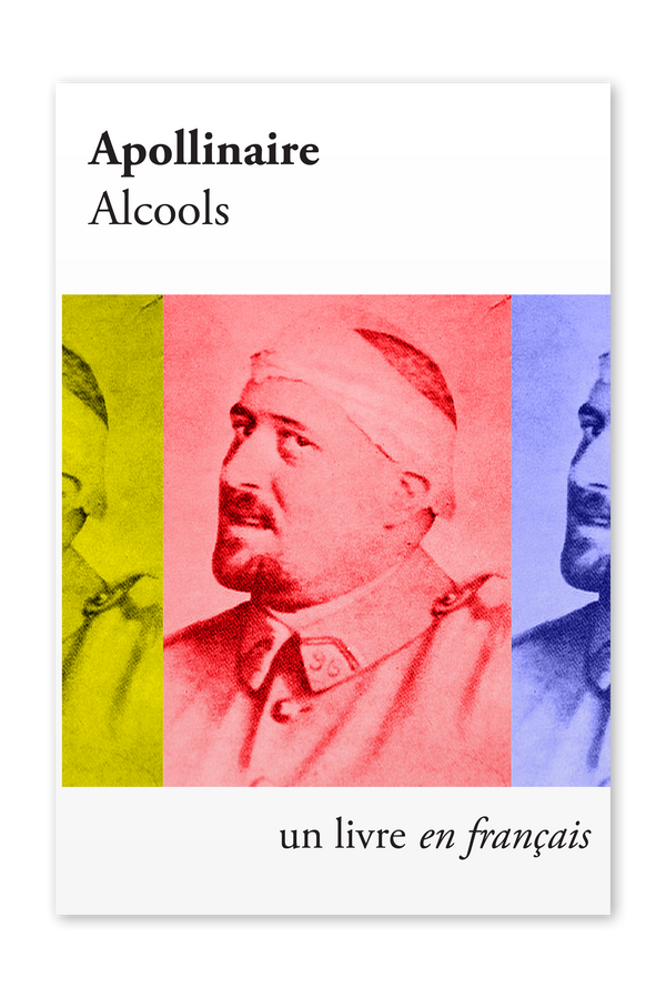 The front cover of Alcools by Guillaume Apollinaire