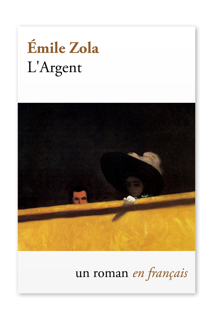 Front cover of L'Argent by Émile Zola