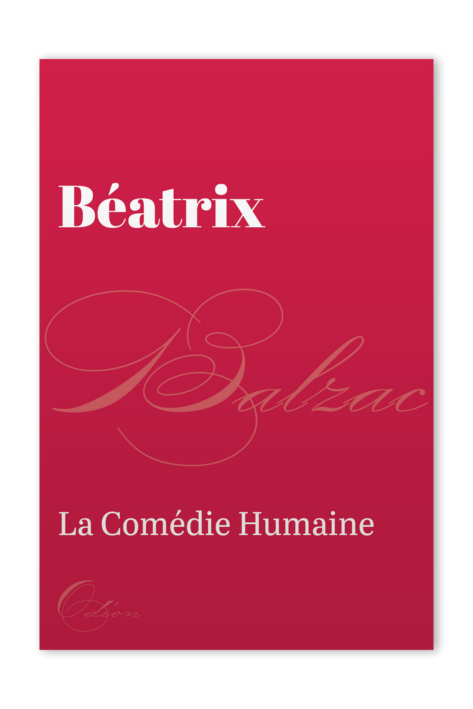 The front cover of Béatrix by Honoré de Balzac