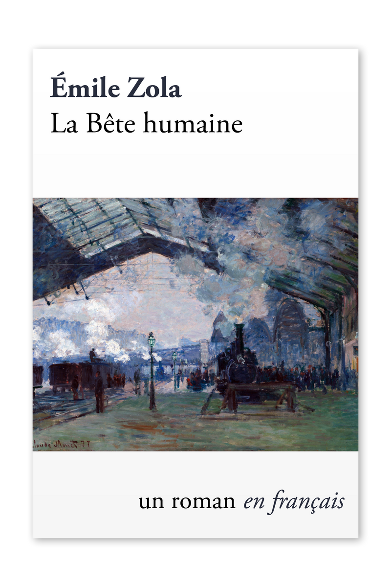 Front cover of La Bête humaine by Émile Zola