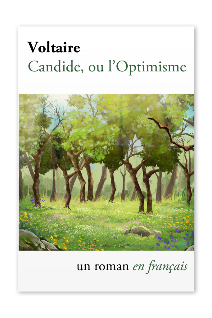 Front cover of Candide, ou l'Optimisme by Voltiare