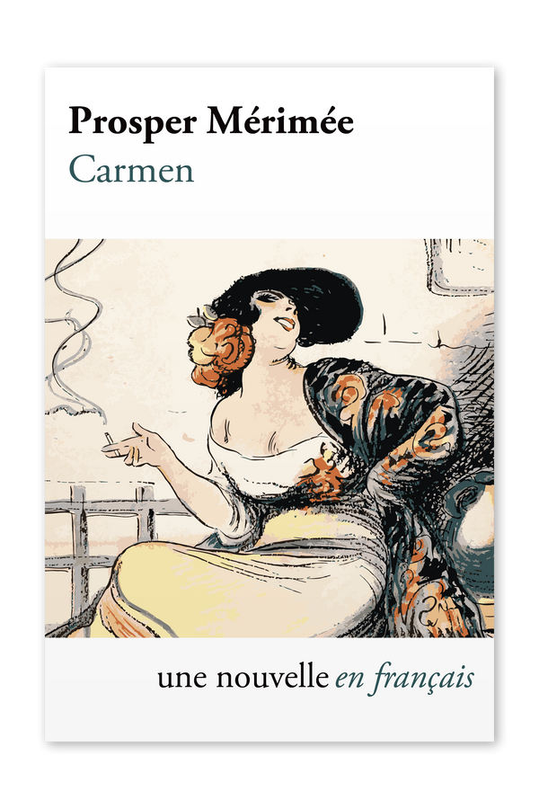 Front cover of Carmen by Prosper Mérimée