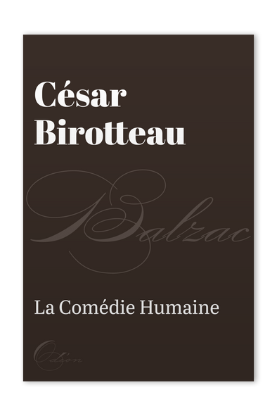 The front cover of César Birotteau by Honoré de Balzac