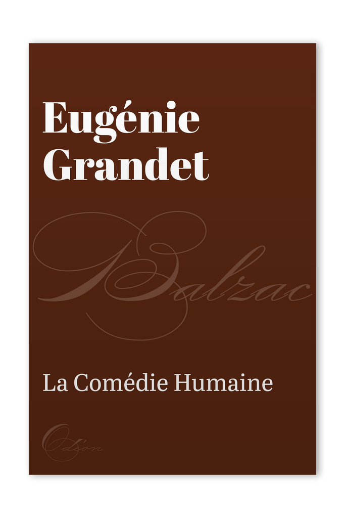 The front cover of Eugénie Grandet by Honoré de Balzac