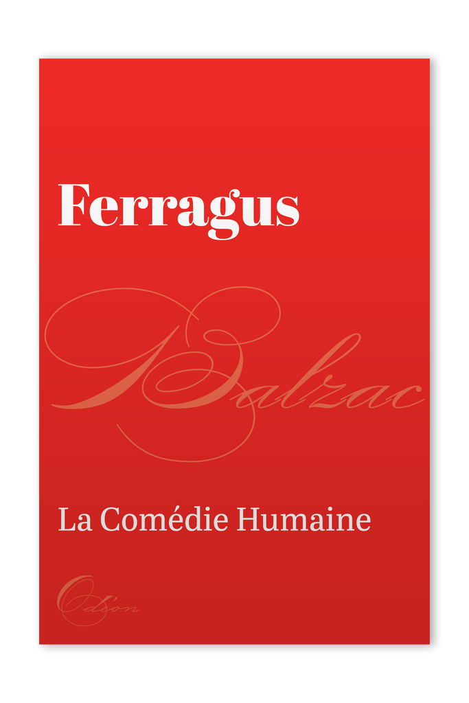 The front cover of Ferragus by Honoré de Balzac