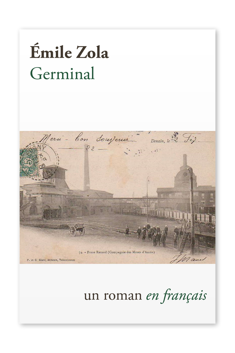 Front cover of Germinal by Émile Zola