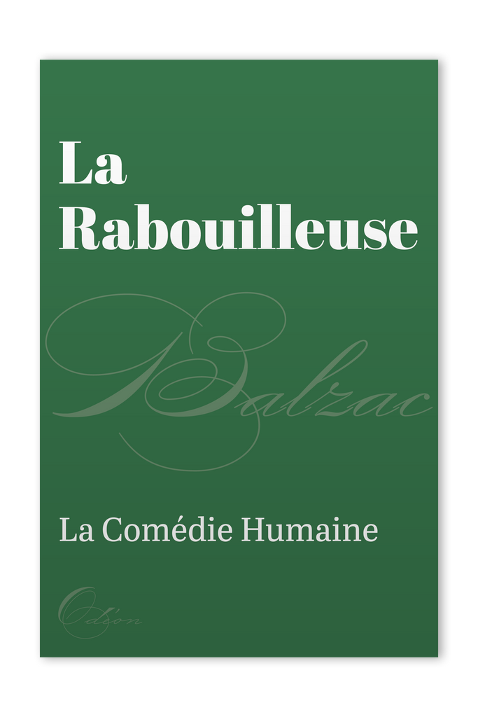 The front cover of La Rabouilleuse by Honoré de Balzac