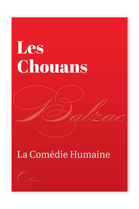 The front cover of Les Chouans by Honoré de Balzac