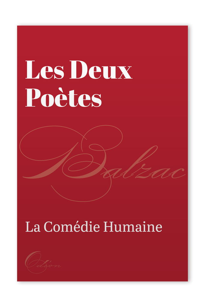The front cover of Les Deux Poètes by Honoré de Balzac
