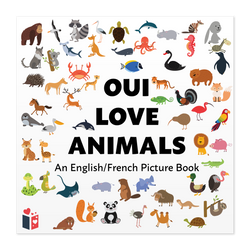 Front cover of Oui Love Animals by Ethan Safron
