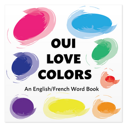 Front cover of Oui Love Colors by Ethan Safron