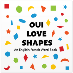 Front cover of Oui Love Shapes by Ethan Safron