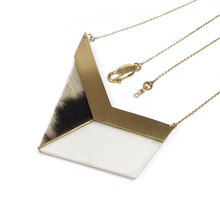 long-geometric-necklace-cowhide-leather-porcelain-brass