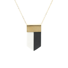 shield-necklace-black-and-white-porcelain-jewelry