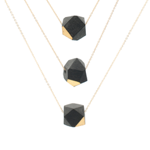 black-and-gold-faceted-porcelain-layering-necklaces