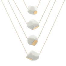 white-and-gold-faceted-porcelain-layering-necklaces