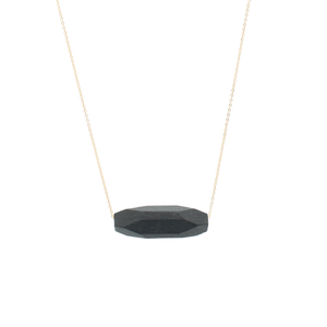 faceted-tube-bead-layering-necklace-black-porecelain-and-gold
