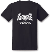 Load image into Gallery viewer, The Slyde Wacken Metal Battle Canada Champions Unisex T-Shirt (Black)
