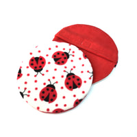 Fleece pet heat pad covers