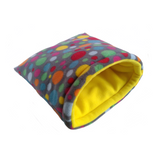customisable fleece padded sleeping bag for guinea pig hedgehog