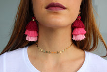 Stacked Tassel Earrings - Femme Fête