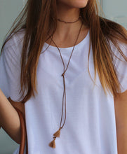Wrap Necklace - Brown - Femme Fête