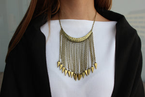 Tribal Statement Necklace - Femme Fête