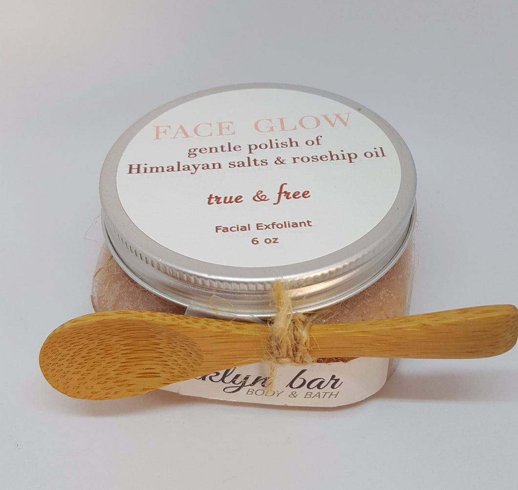 FACE GLOW Salt Polish- True & Free