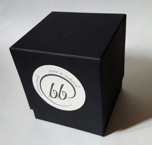 Black Gift Box for 11 oz Classic candle