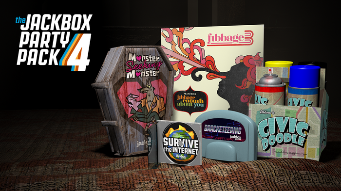The Jackbox Party Pack 4 (Windows/Mac/Linux Steam Code)