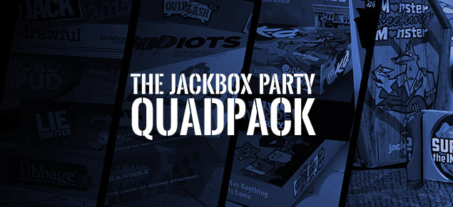 The Jackbox Party Quadpack (Windows/Mac/Linux Steam Code)