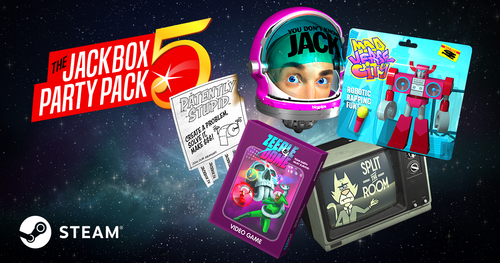 The Jackbox Party Pack 5 (PC/Mac/Linux Steam Code)