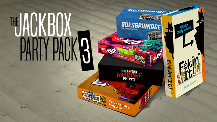 The Jackbox Party Pack 3 (Windows/Mac/Linux Steam Code)