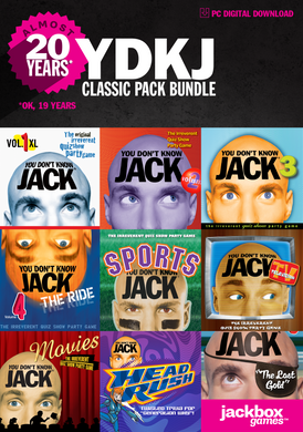 YOU DON'T KNOW JACK Classic Pack (Windows Steam Code ONLY)