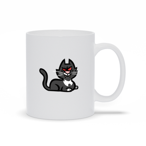 Devils and the Details Mug - Cat