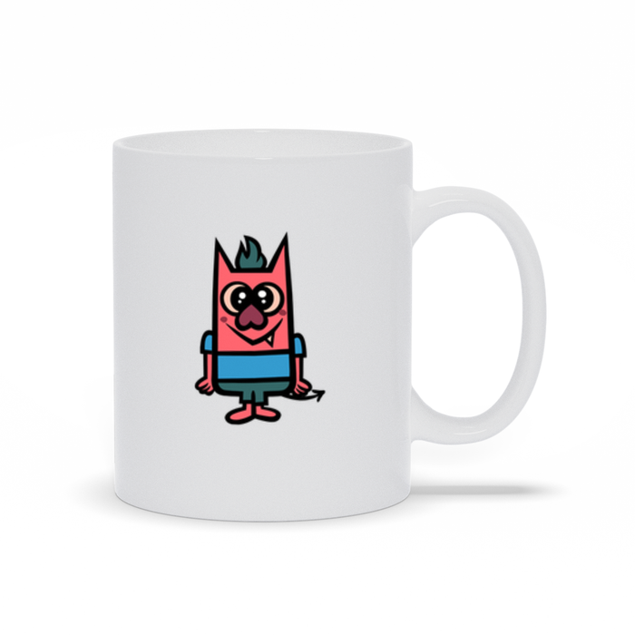 Devils and the Details Mug - Child A