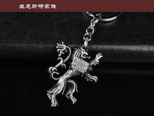Game of Throne Family House Key Chain