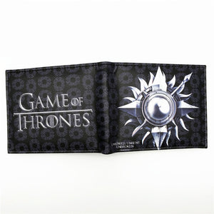 Leather Wallet Game of Thrones Favorite Family House Sigil