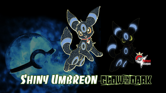 Shiny GITD Umbreon Pin